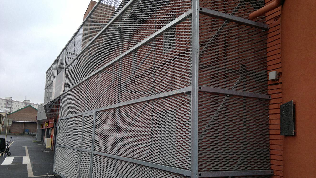 Constructions m talliques cms for Structure metallique architecture